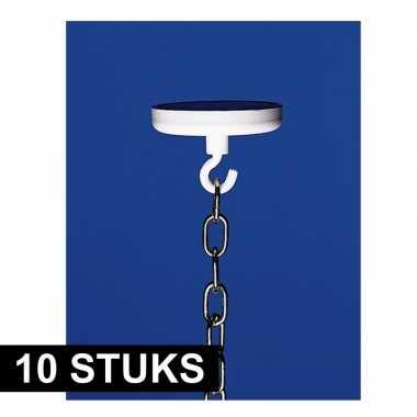 10x haak met ronde magneet