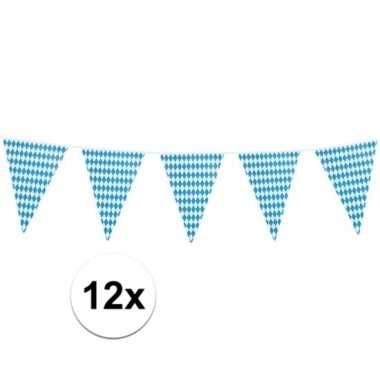 12x xl oktoberfest vlaggenlijnen 8 m