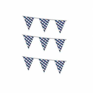 3x friese vlaggenlijnen van 10 meter