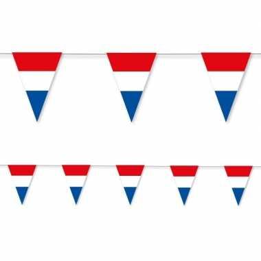 3x holland vlaggenlijn papier 3,5 meter
