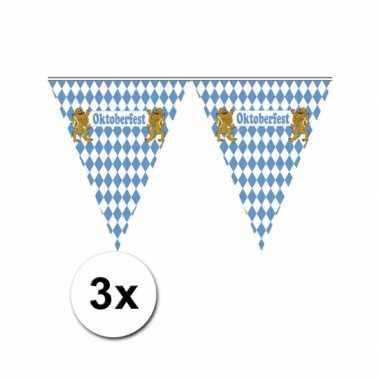 3x Oktoberfest slinger