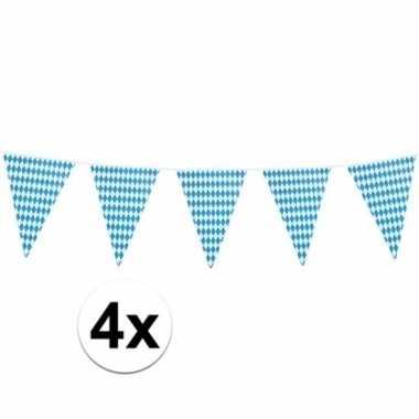 4x xl oktoberfest vlaggenlijnen 8 m