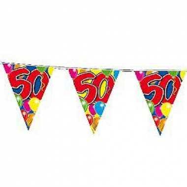 50 jaar slingers vlaggetjes