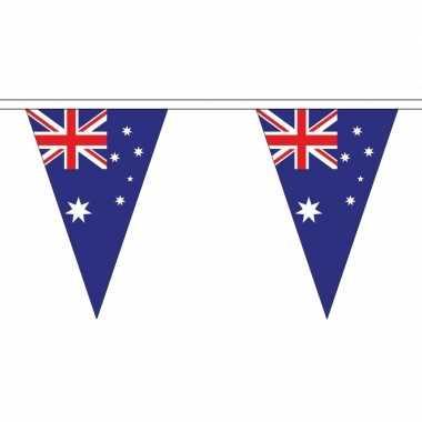 Australische vlaggenlijn van stof 5 m