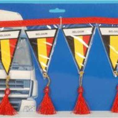 Belgie mini vlaggenlijn 60 cm