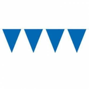 Blauwe vlaggenlijn 10 meter