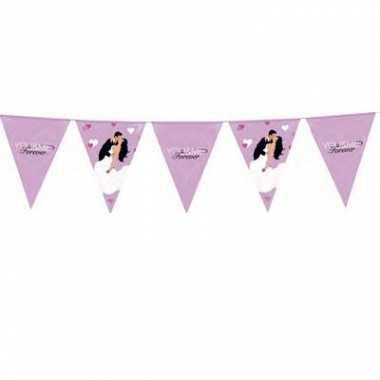 Bruiloft versiering vlaggenlijn