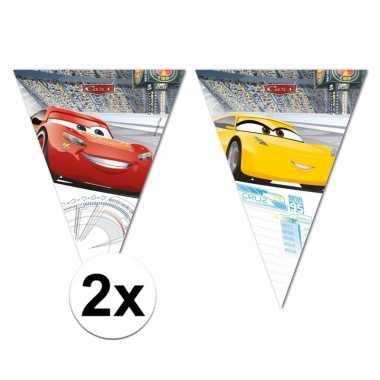 Cars vlaggenlijntjes 6 meter