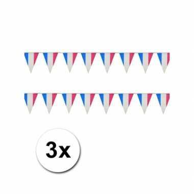 Drie vlaggenlijnen van Frankrijk