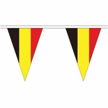 Extra lange belgie vlaggenlijnen van 5 meter