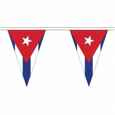 Extra lange cuba vlaggenlijnen van 20 meter