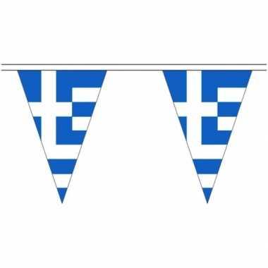 Extra lange griekenland vlaggenlijnen van 20 meter