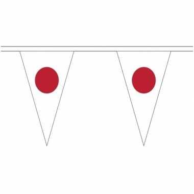 Extra lange japan vlaggenlijnen van 5 meter