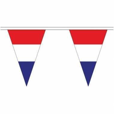 Extra lange nederland vlaggenlijnen van 20 meter