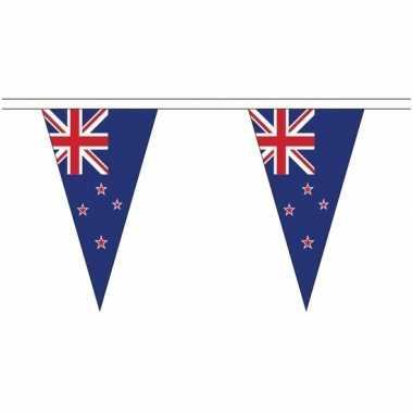 Extra lange nieuw zeeland vlaggenlijnen van 5 meter