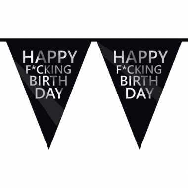 Fuck verjaardagsvlaggenlijn