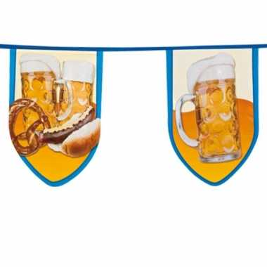 Grote bierfeest vlaggetjes 8 meter