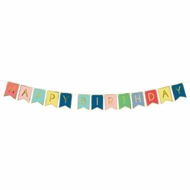Happy birthday feest slinger 175 cm