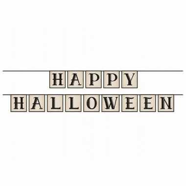 Happy halloween feestslingers 210 cm