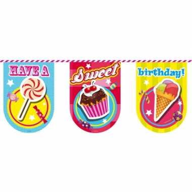 Have a sweet birthday vlaggenlijn
