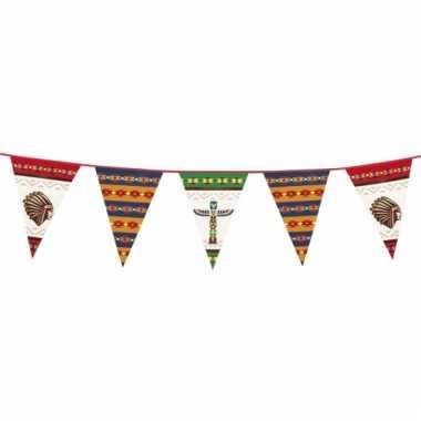 Indianen vlaggenlijn 6 meter