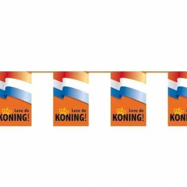 Koningdag vlaggetjes slinger