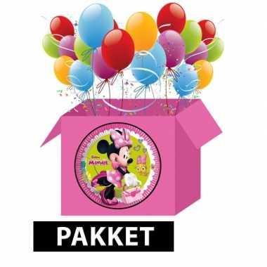 Minnie mouse party pakket