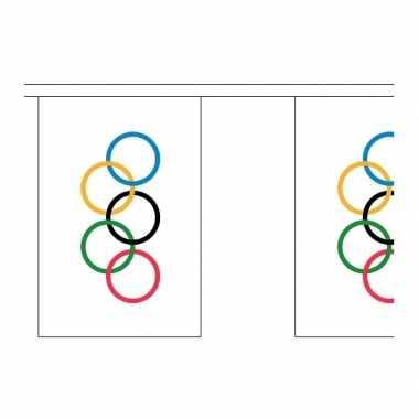 Olympische spelen vlaggenlijn