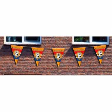 Oranje EK vlaggenlijn XXL