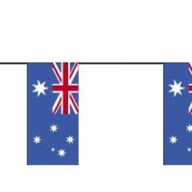 Papieren vlaggenlijn Australie