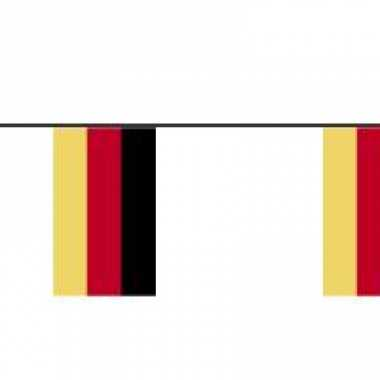 Papieren vlaggenlijn Duitsland
