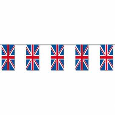 Papieren vlaggenlijn Engeland