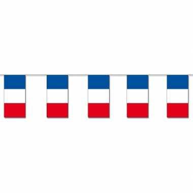 Papieren vlaggenlijn frankrijk