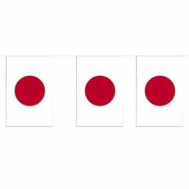 Papieren vlaggenlijn Japan
