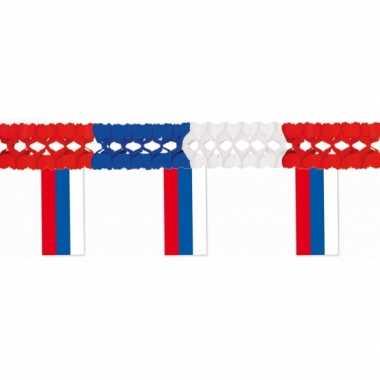 Papieren vlaggenlijn Rusland