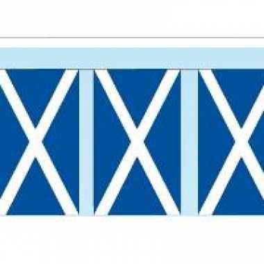 Papieren vlaggenlijn schotland