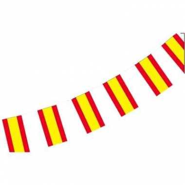 Papieren vlaggenlijn Spanje