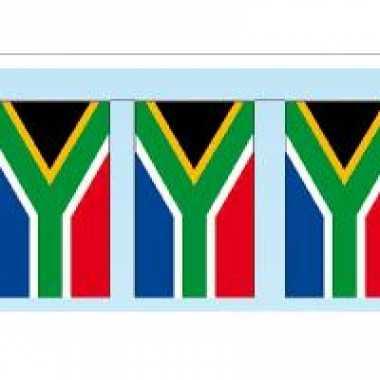 Papieren vlaggenlijn zuid arfika