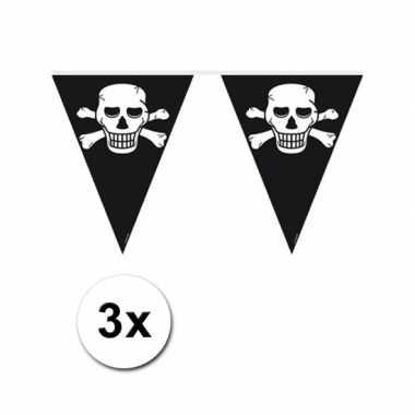 Piraten versiering vlaggenlijn