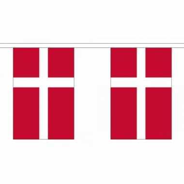 Polyester denemarken vlaggenlijn
