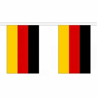 Polyester Duitsland vlaggenlijn