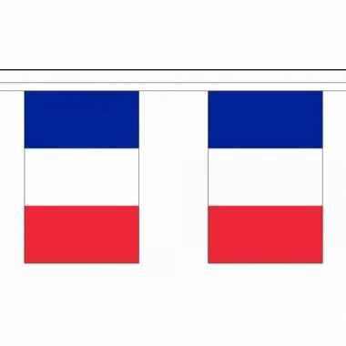 Polyester frankrijk vlaggenlijn