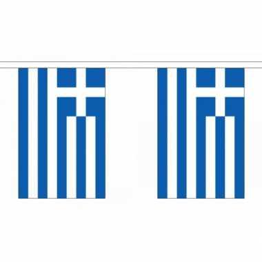 Polyester griekenland vlaggenlijn