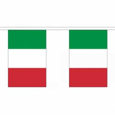Polyester Italie vlaggenlijn