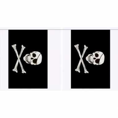 Polyester piraten vlaggenlijn