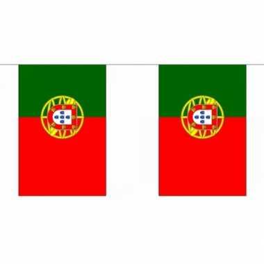 Polyester Portugal vlaggenlijn