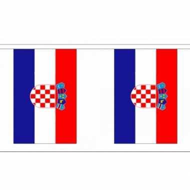 Polyester vlaggenlijn kroatie