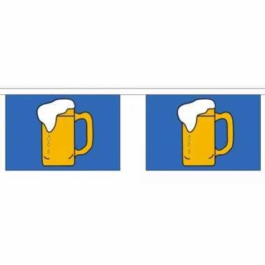 Polyester vlaggenlijn met bier