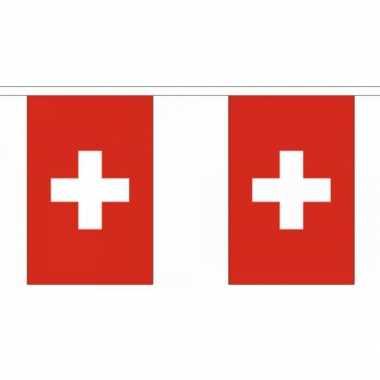 Polyester vlaggenlijn Zwitserland