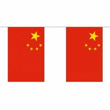 Stoffen vlaggenlijn china 3 meter